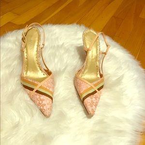 BCBG Slingback Kitten Heels 8